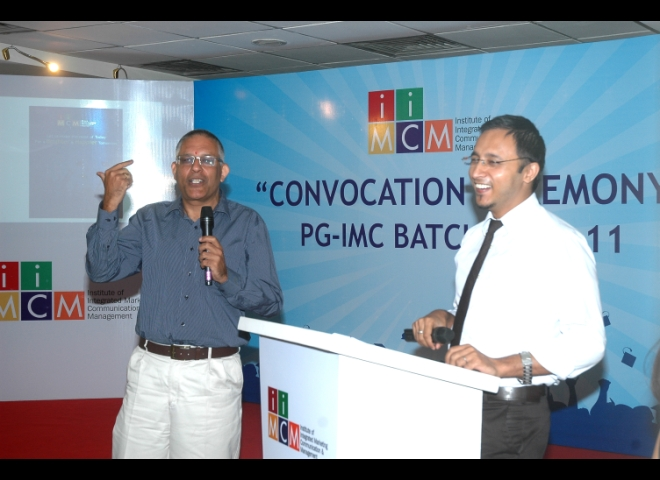 Convocation Ceremony of PG IMC Batch 2010- 11