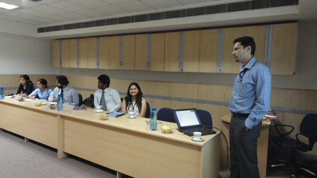 Guest Lecture by Mr. Sanjeev Sharma
